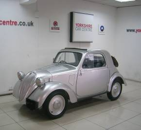 Fiat Other 0.5 Topolino Hatchback Petrol Silver at Yorkshire Classic Car Centre Goole